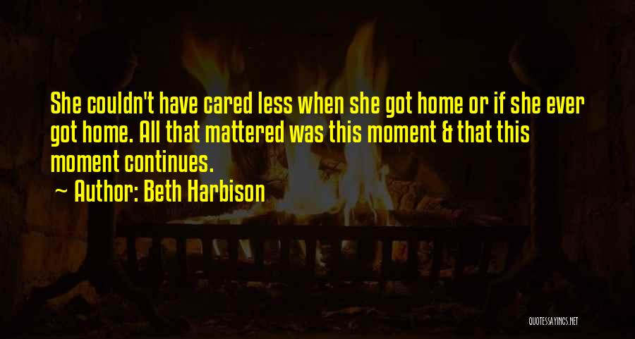 If They Really Cared Quotes By Beth Harbison