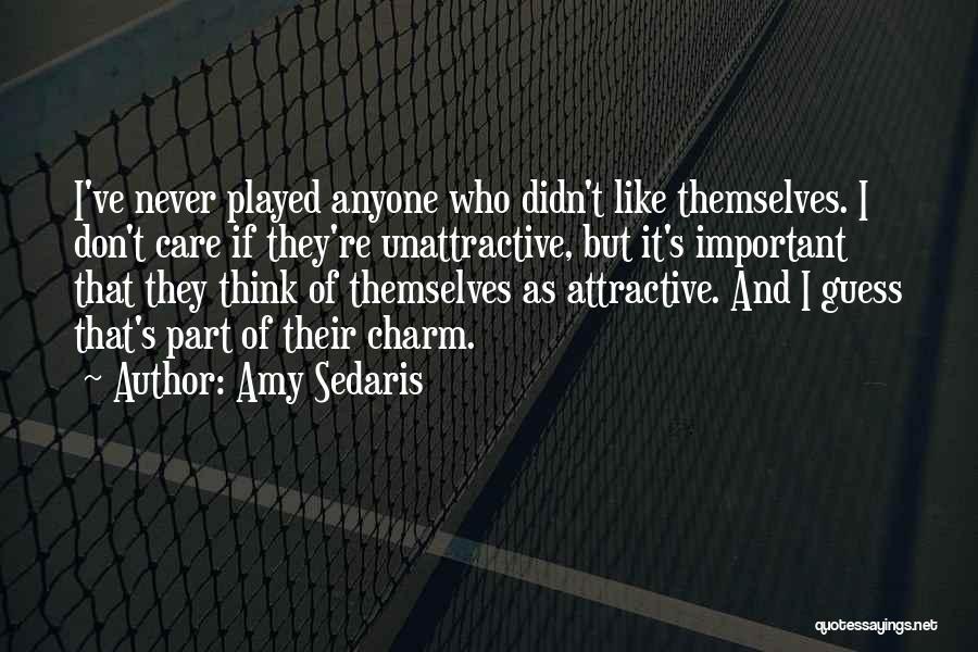 If U Care Quotes By Amy Sedaris