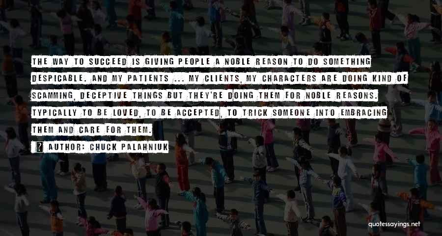 If U Care Quotes By Chuck Palahniuk