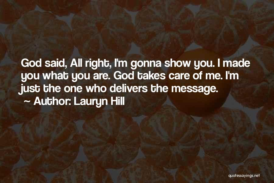If U Care Quotes By Lauryn Hill