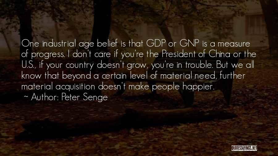 If U Care Quotes By Peter Senge
