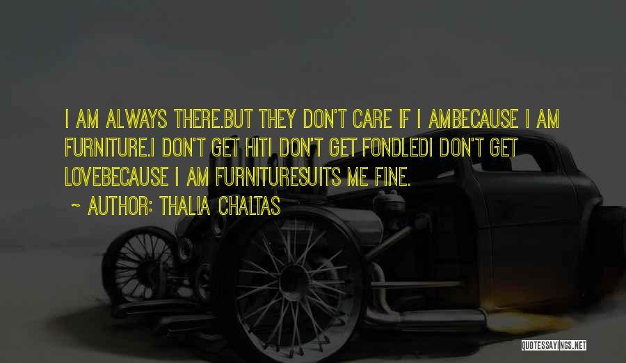 If U Care Quotes By Thalia Chaltas