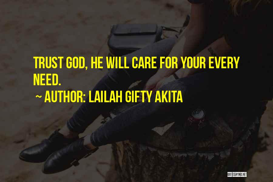 If U Dont Care Quotes By Lailah Gifty Akita