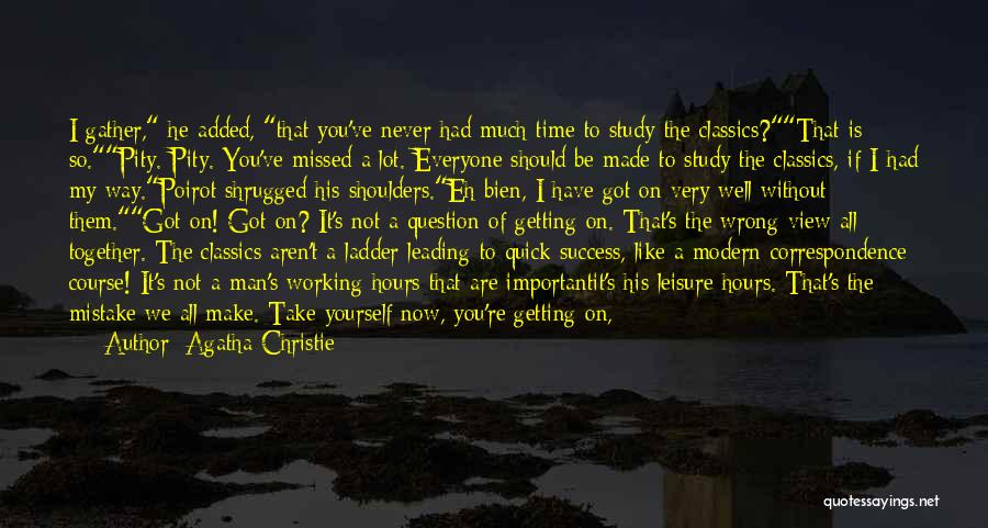 If We Are Not Together Quotes By Agatha Christie