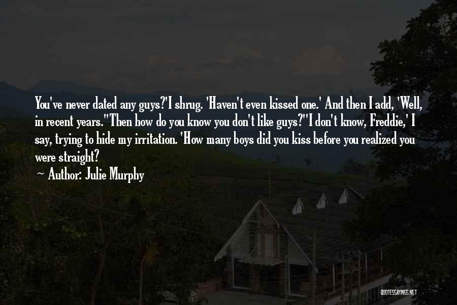 If We Dated Quotes By Julie Murphy