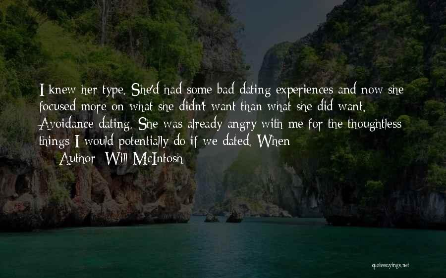 If We Dated Quotes By Will McIntosh