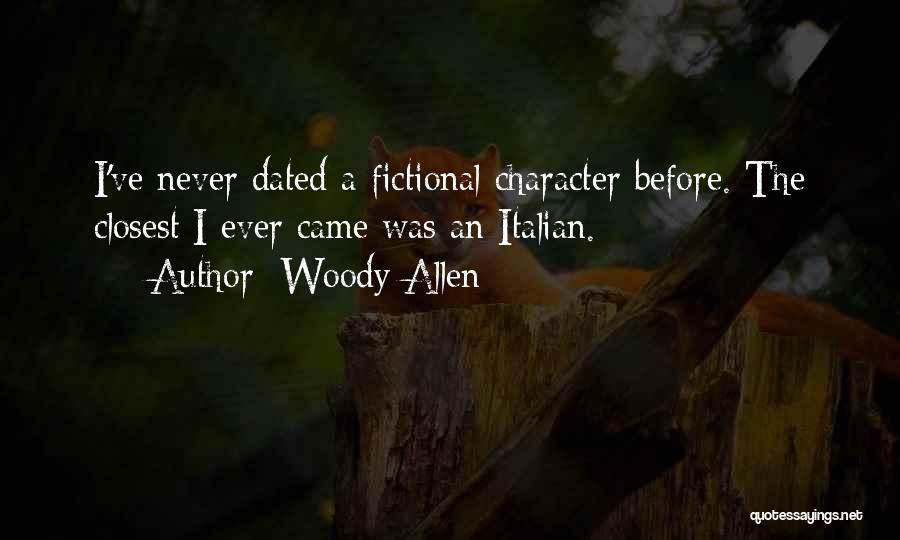 If We Dated Quotes By Woody Allen