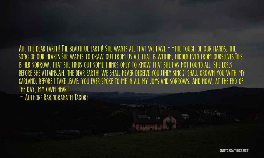If We Ever Break Up Quotes By Rabindranath Tagore