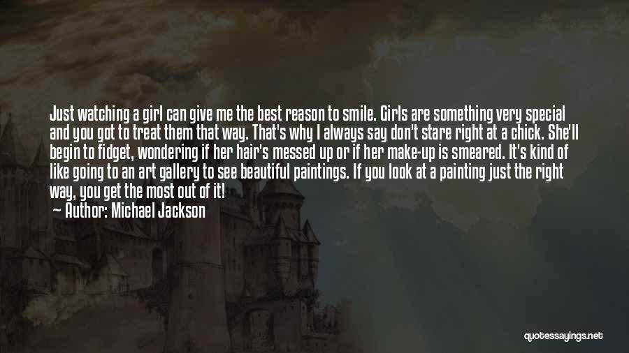 If You Can Make Me Smile Quotes By Michael Jackson