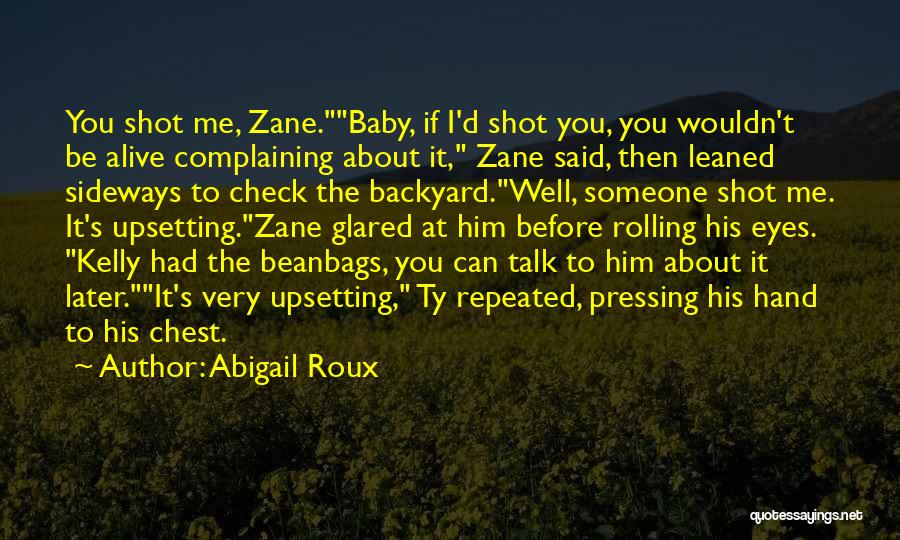 If You Can't Talk To Me Quotes By Abigail Roux