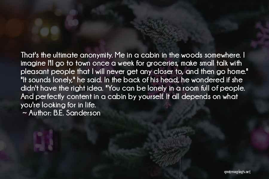 If You Can't Talk To Me Quotes By B.E. Sanderson