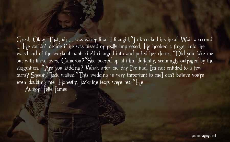 If You Can't Talk To Me Quotes By Julie James