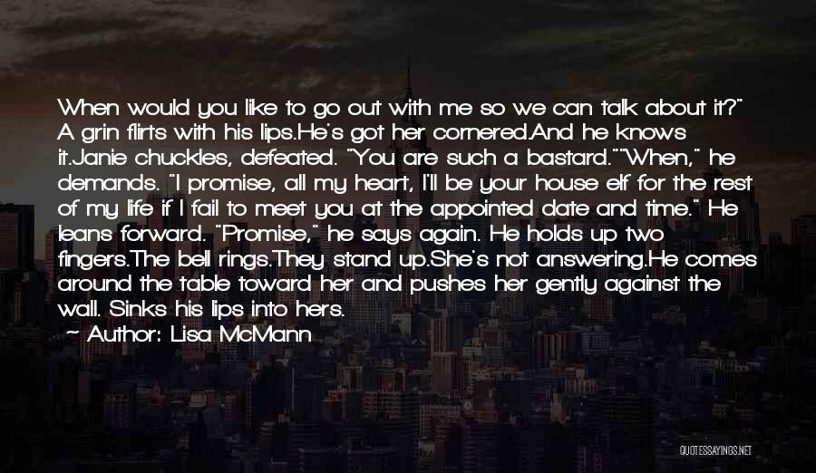 If You Can't Talk To Me Quotes By Lisa McMann