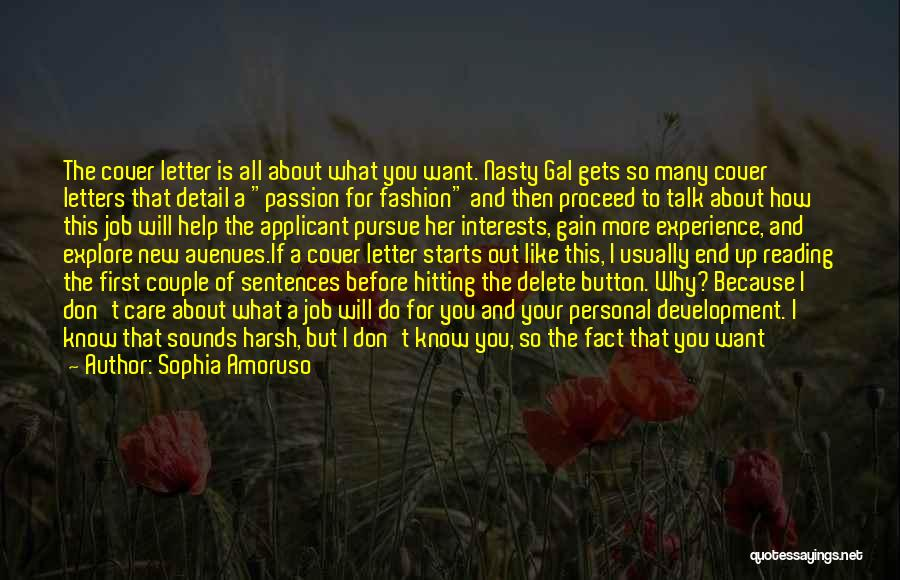 If You Can't Talk To Me Quotes By Sophia Amoruso