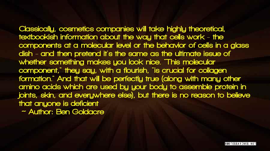 If You Don't Have Nothing Nice To Say Quotes By Ben Goldacre