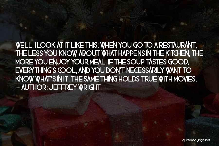 If You Don't Like Quotes By Jeffrey Wright