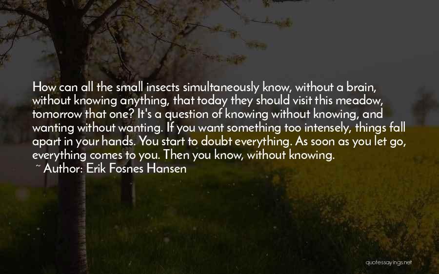 If You Doubt Quotes By Erik Fosnes Hansen