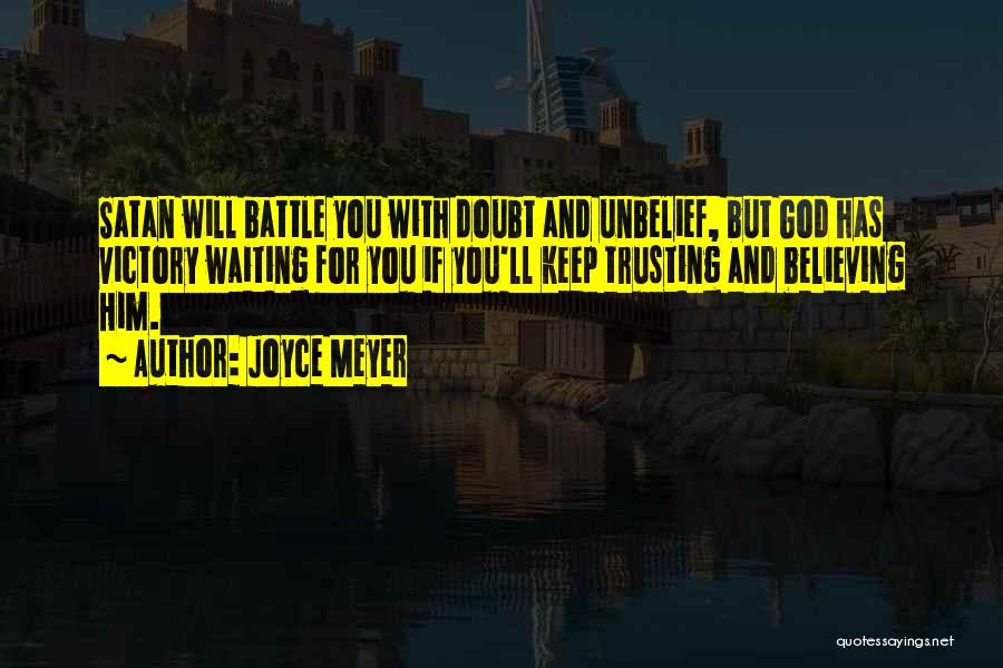 If You Doubt Quotes By Joyce Meyer