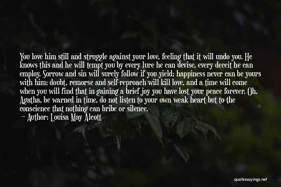 If You Doubt Quotes By Louisa May Alcott