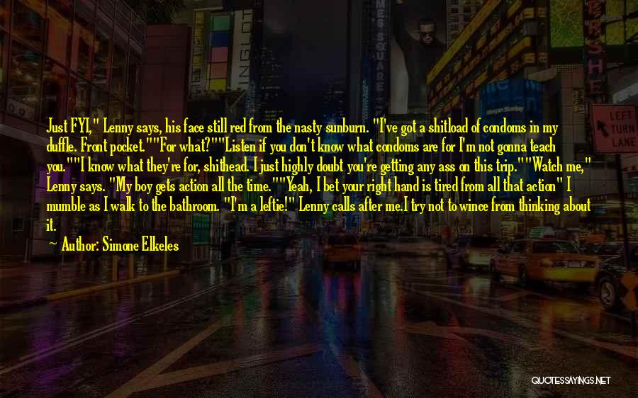 If You Doubt Quotes By Simone Elkeles