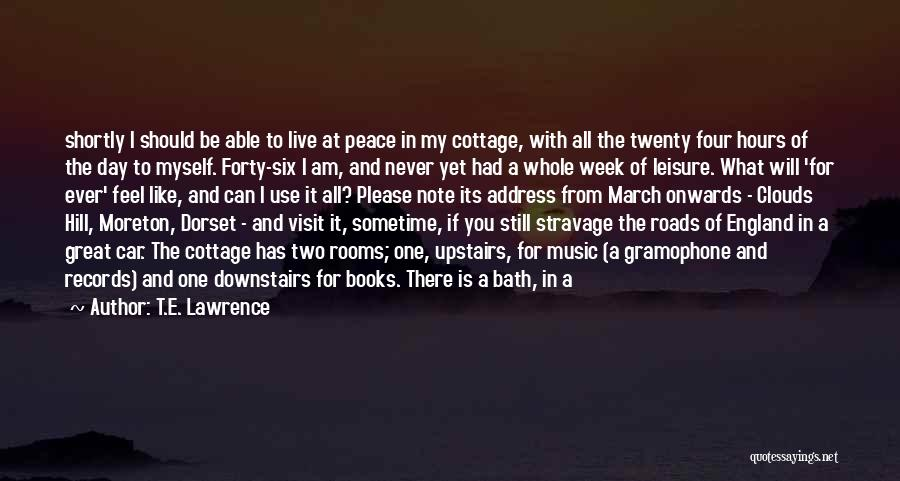 If You Feel Hurt Quotes By T.E. Lawrence