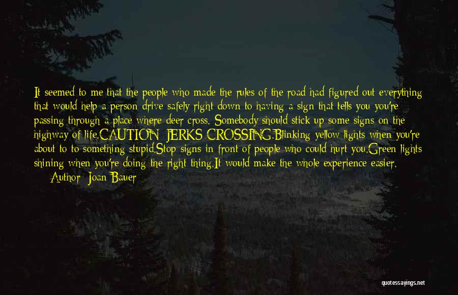 If You Hurt The Right Person Quotes By Joan Bauer
