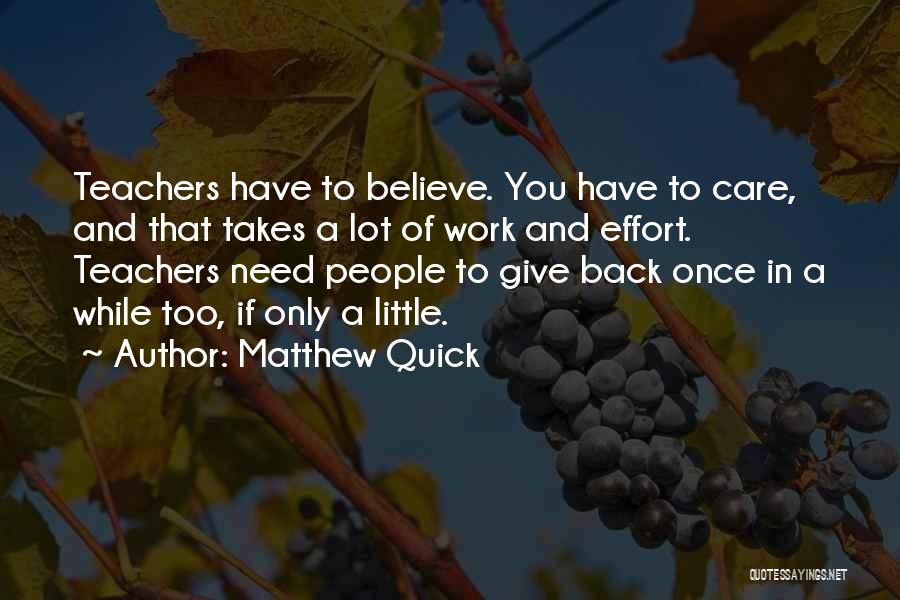 If You Only Quotes By Matthew Quick