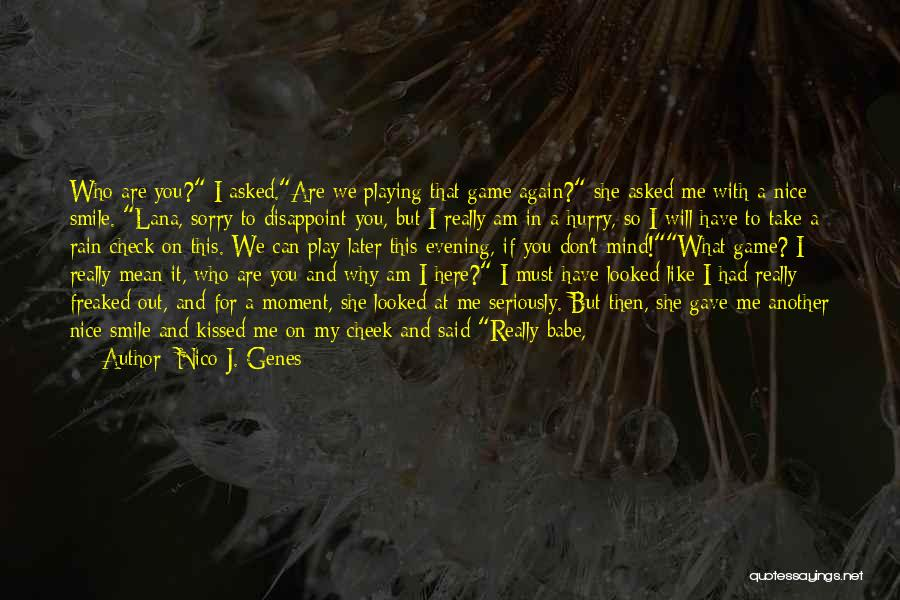 If You Play Me Quotes By Nico J. Genes