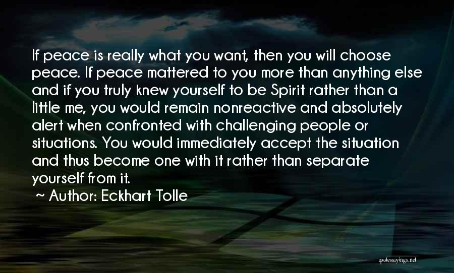 If You Really Knew Me Quotes By Eckhart Tolle