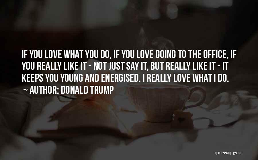 If You Really Love Quotes By Donald Trump