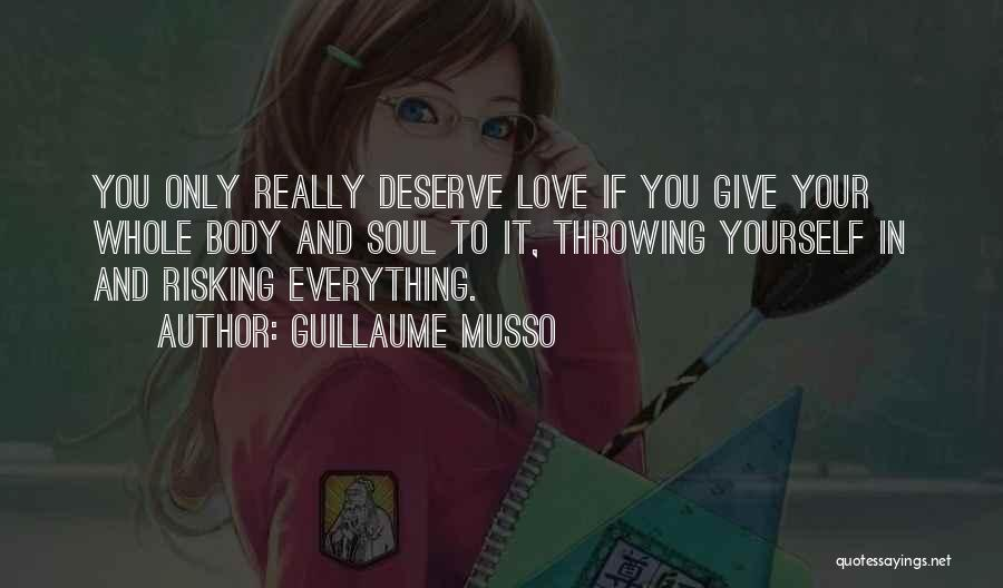 If You Really Love Quotes By Guillaume Musso