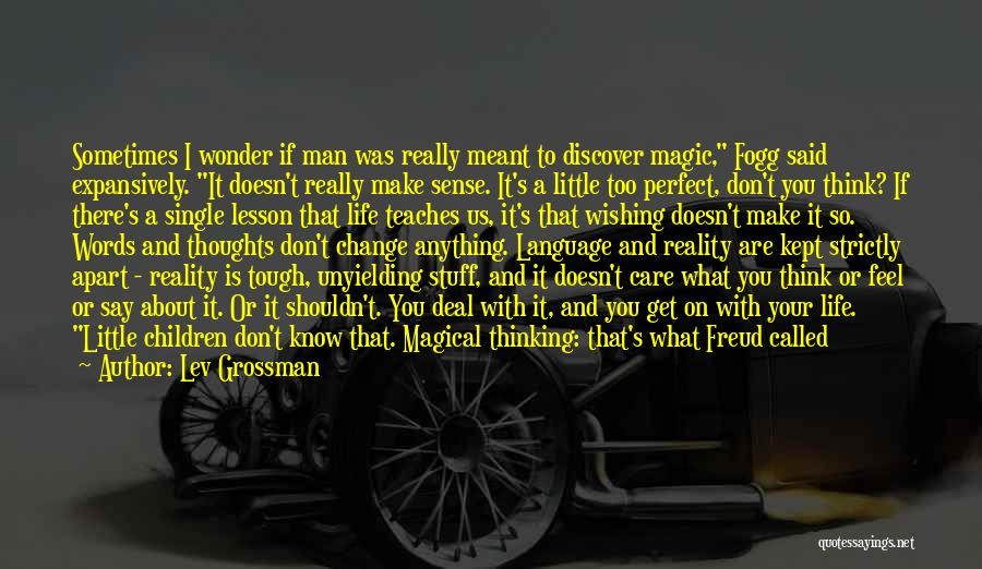 If You Think Your Perfect Quotes By Lev Grossman