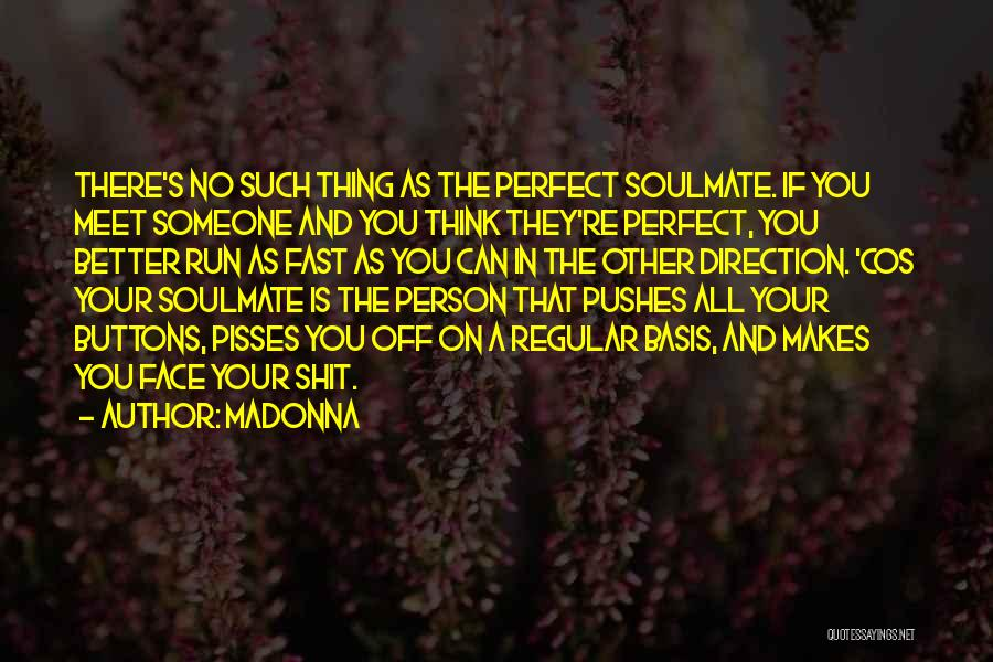 If You Think Your Perfect Quotes By Madonna