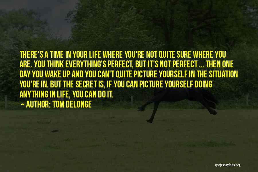 If You Think Your Perfect Quotes By Tom DeLonge