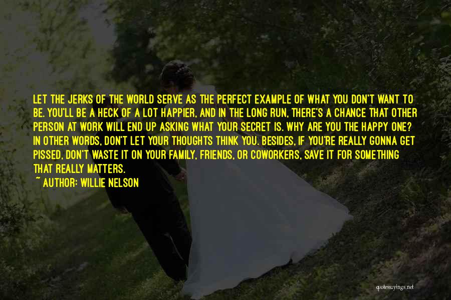If You Think Your Perfect Quotes By Willie Nelson