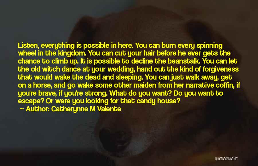 If You Want Her Go Get Her Quotes By Catherynne M Valente