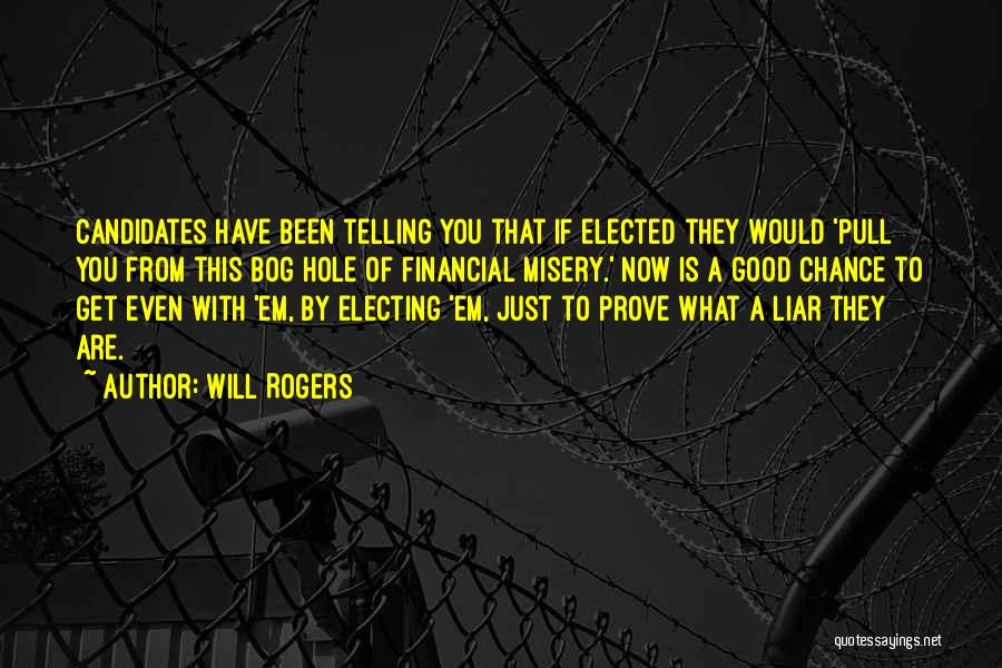 If You Want Me Prove It Quotes By Will Rogers