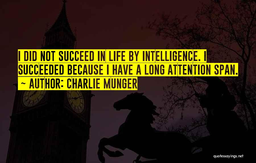 If You Want To Succeed In Life Quotes By Charlie Munger
