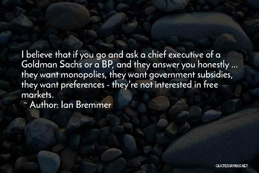 If You're Not Interested Quotes By Ian Bremmer