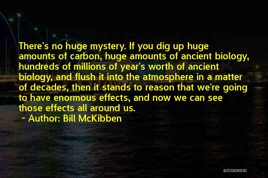 If You're Worth It Quotes By Bill McKibben