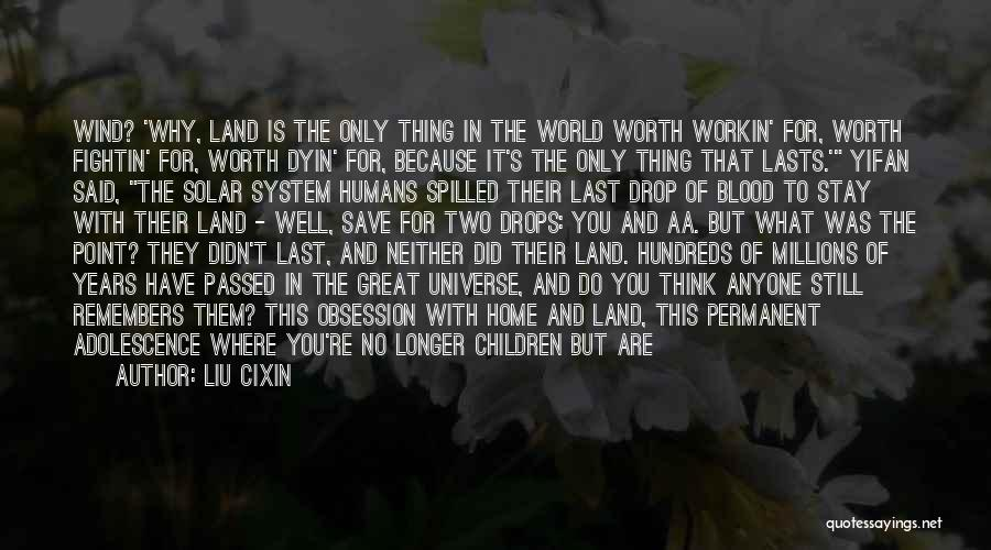If You're Worth It Quotes By Liu Cixin