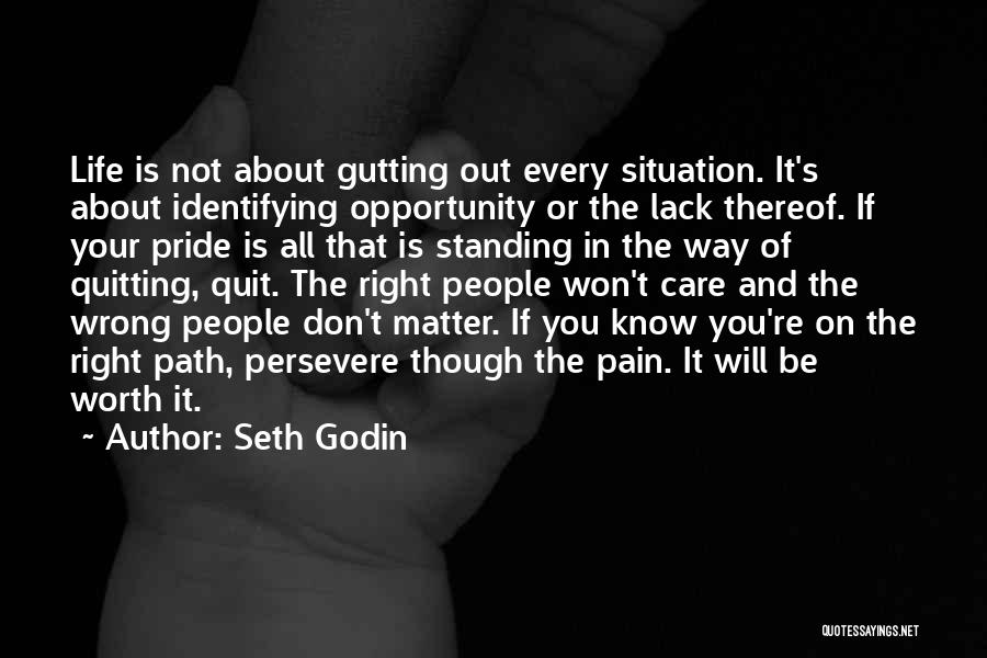 If You're Worth It Quotes By Seth Godin