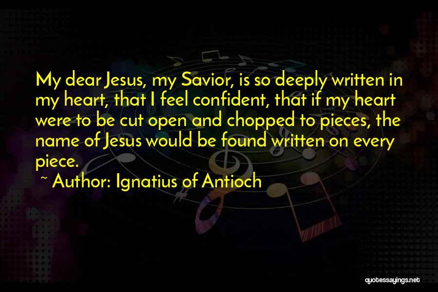 Ignatius Of Antioch Quotes 1801644