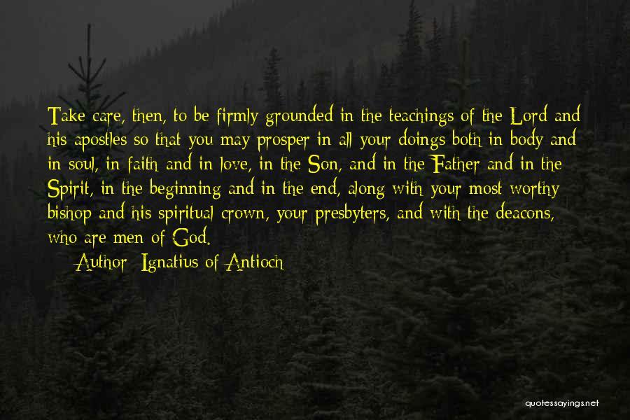 Ignatius Of Antioch Quotes 381220