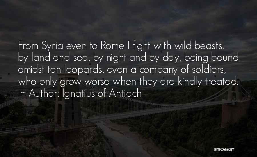 Ignatius Of Antioch Quotes 632629