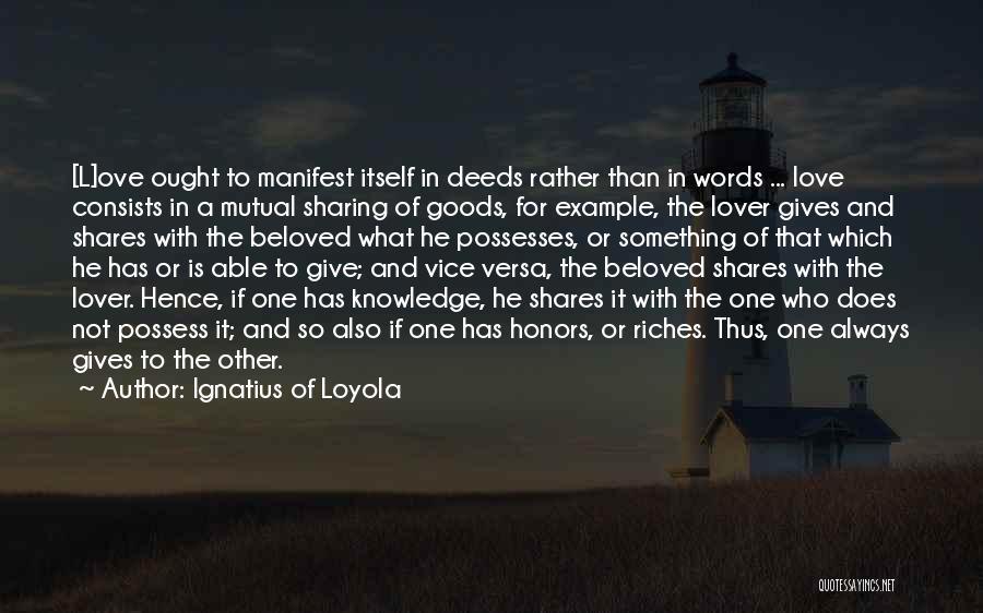 Ignatius Of Loyola Quotes 1231240