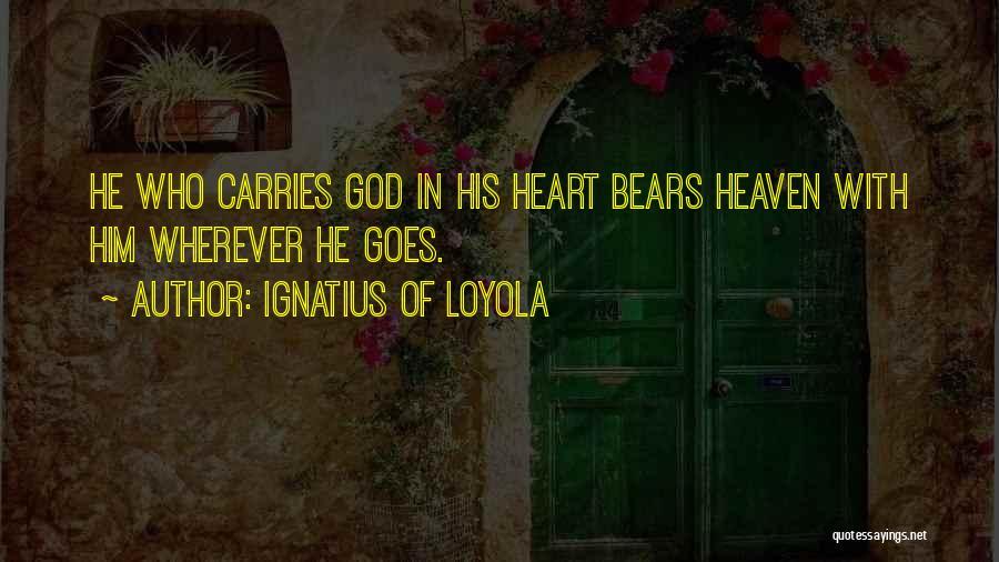 Ignatius Of Loyola Quotes 981437