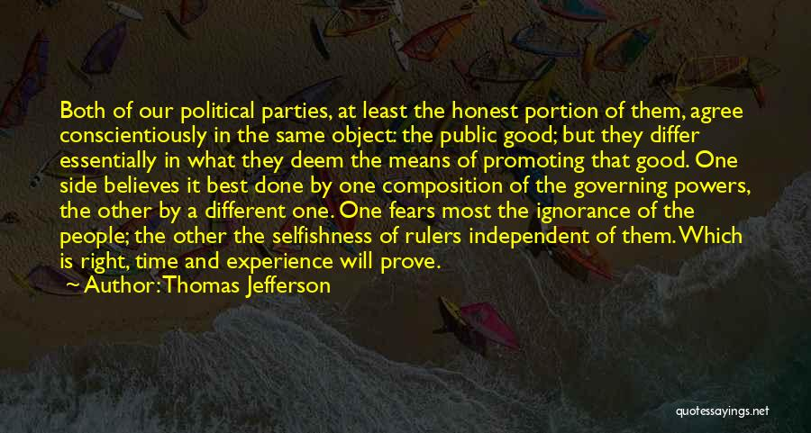 Ignorance Is The Best Quotes By Thomas Jefferson