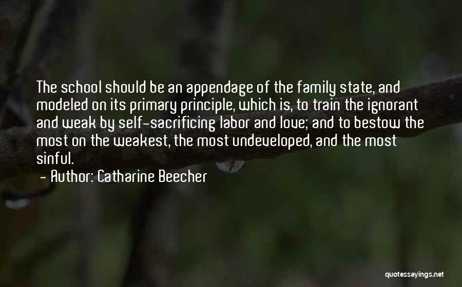 Ignorant Family Quotes By Catharine Beecher