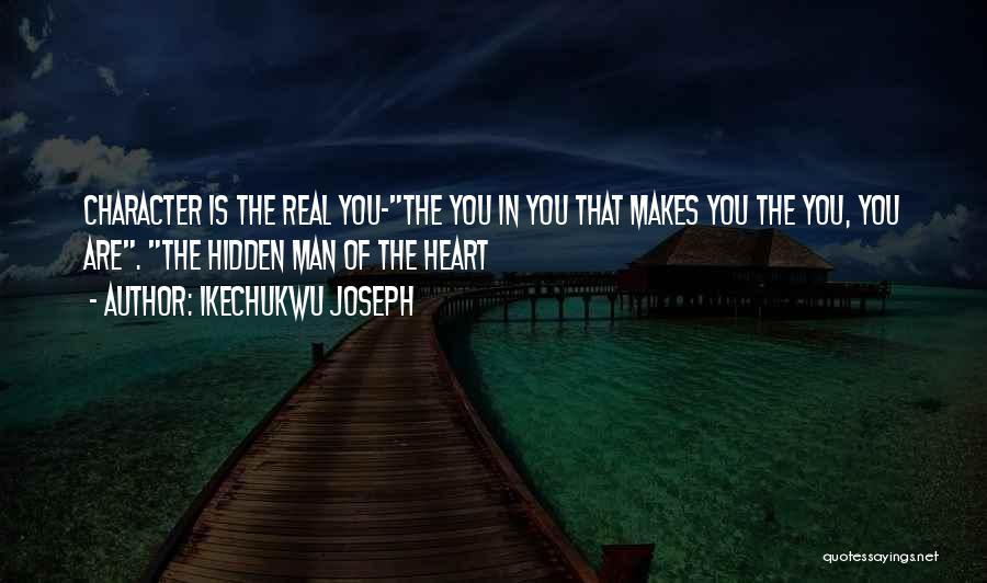 Ikechukwu Joseph Quotes 112036